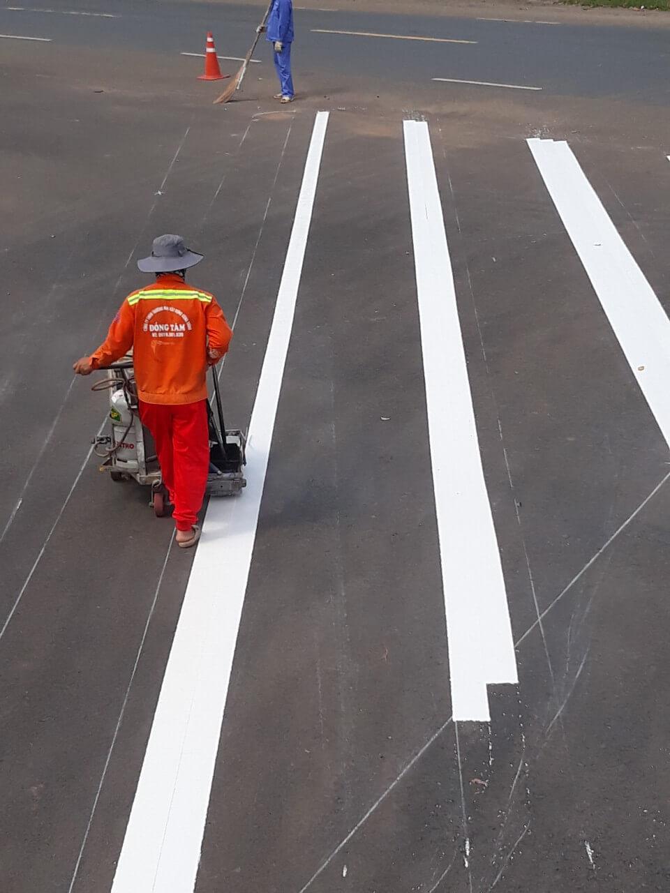 Các loại sơn vạch kẻ đường giao thông tốt nhất trên thị trường hiện nay